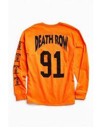 Urban Outfitters - Death Row '91 Long Sleeve Tee - Lyst
