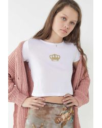 Truly Madly Deeply - Crown Baby Tee - Lyst