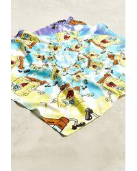 Urban Outfitters - Spongebob Tie-dye Bandana - Lyst