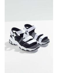 Skechers - D'lites Fresh Catch Sandal - Lyst