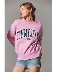 Tommy Hilfiger - Tommy Hilfiger Collegiate Crew-neck Sweatshirt - Lyst