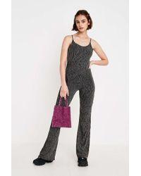 Urban Outfitters - Uo Rainbow Vertical Stripe Glitter Jumpsuit - Lyst 310dba4d2