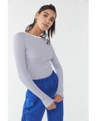 Urban Outfitters - Uo Pipa Thermal Long Sleeve Top - Lyst