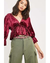Urban Outfitters - Textured Snake Print Leather Belt - Womens L - Lyst