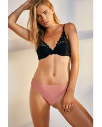 Out From Under - Nina Laser-cut Lacey Thong - Lyst