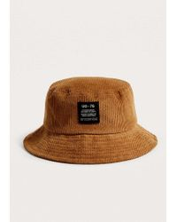 Urban Outfitters - Uo Tan Corduroy Bucket Hat - Lyst