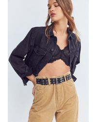 Urban Outfitters | Square Double Prong Belt | Lyst
