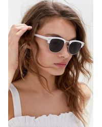 Urban Outfitters Clover Half-frame Sunglasses