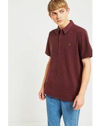 Farah   Chelsea Red Polo Shirt   Lyst