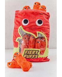 Urban Outfitters - Yummy World Stuffed Fiery Cheese Puffs Plushie - Lyst