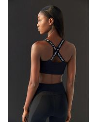cea6f330b1 Year Of Ours - Pamela Ribbed Cross-back Sports Bra - Lyst