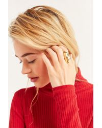 Urban Outfitters | Curved Statement Ring | Lyst