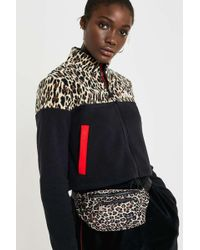 Urban Outfitters - Uo Leopard Print Nylon Bum Bag - Lyst