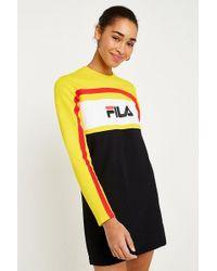 Fila | Belle Logo Long Sleeve Dress | Lyst