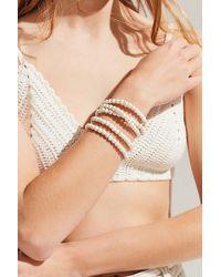 Urban Outfitters - Clover Multi-strand Beaded Bracelet - Lyst