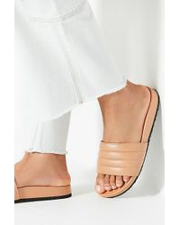 Urban Outfitters - Uo Quilted Pool Slide - Lyst