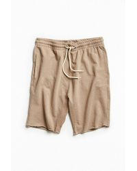 Urban Outfitters - Uo Raw Hem Knit Short - Lyst