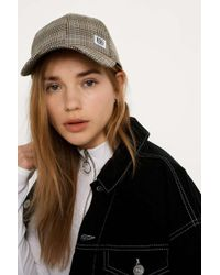 BDG - Check Baseball Cap - Womens All - Lyst