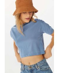 Urban Renewal - Remnants Crew-neck Cropped Tee - Lyst