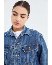 9c53939d2d5 Lyst - Urban Renewal Remade Dip-dyed Denim Jacket in Blue