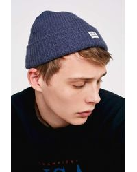f5d8896a8f73d Urban Outfitters Uo Stone Mini Roll Beanie - Mens All in Natural for ...