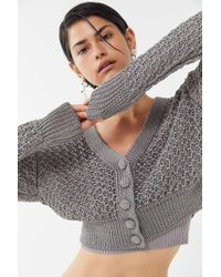 Urban Outfitters - Uo Lilly Shine Cardigan - Lyst