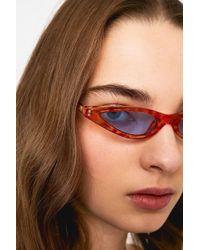 Urban Outfitters - Rita Slim Cat Eye Sunglasses - Lyst