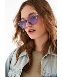 Urban Outfitters - Every Day Classic Round Sunglasses - Lyst