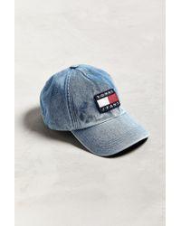 Tommy Hilfiger - Tommy Jeans '90s Sailing Denim Baseball Hat - Lyst