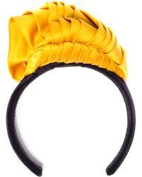 Maryam Keyhani - Sculpted Mustard Headband - Lyst