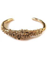 Julie Cohn Design - Caviar Bronze Cuff - Lyst