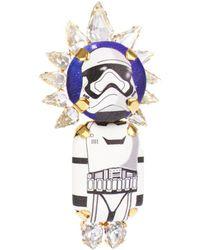 Bijoux De Famille - Storm Trooper Crown Brooch - Lyst
