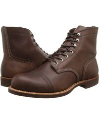Red Wing - 6 Iron Ranger Lug (hawthorne Muleskinner) Men's Lace-up Boots - Lyst
