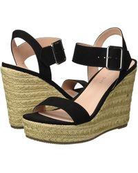 f7b5bc70282 Lyst - Madden Girl Cena Platform Wedge Sandals