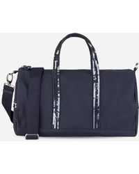 Vanessa Bruno - Canvas And Sequins Gym Bag - Lyst