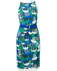 DSquared² - Printed Dress - Lyst