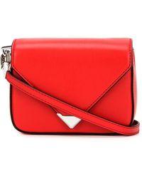 Alexander Wang - Prisma Envelope Mini Leather Shoulder Bag - Lyst