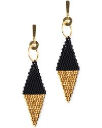 Velvet By Graham & Spencer - Athena Earrings By Bluma Project - Lyst