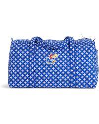 Vera Bradley   Collegiate Large Duffel Travel Bag   Lyst