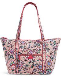 10769314fdaa Vera Bradley - Iconic Miller Travel Bag - Lyst
