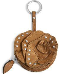 Vera Bradley - Rosy Outlook Bag Charm Studded - Lyst