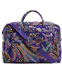 Vera Bradley - Iconic Grand Weekender Travel Bag - Lyst