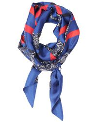Veronica Beard - Harriet Silk Twill Scarf St. Piece London - Lyst