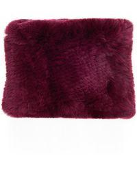 Veronica Beard - Knitted Funnel In Rex Rabbit Glamourpuss - Lyst