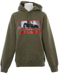 8e639cbb0b Supreme - Pre-owned Khaki Cotton Knitwear & Sweatshirts - Lyst