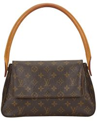 Louis Vuitton | Pre-owned Looping Cloth Handbag | Lyst