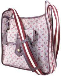 Louis Vuitton | Pre-owned Cloth Crossbody Bag | Lyst