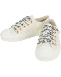 Dior - Pre-owned White Cloth Trainers - Lyst