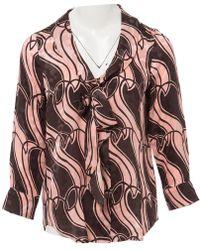 Marc Jacobs - Silk Shirt - Lyst