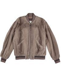 Yves Salomon - Pre-owned Mink Jacket - Lyst
